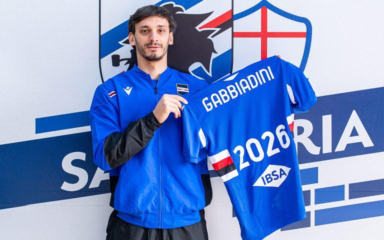 Gabbiadini signs new deal with Sampdoria until 2026