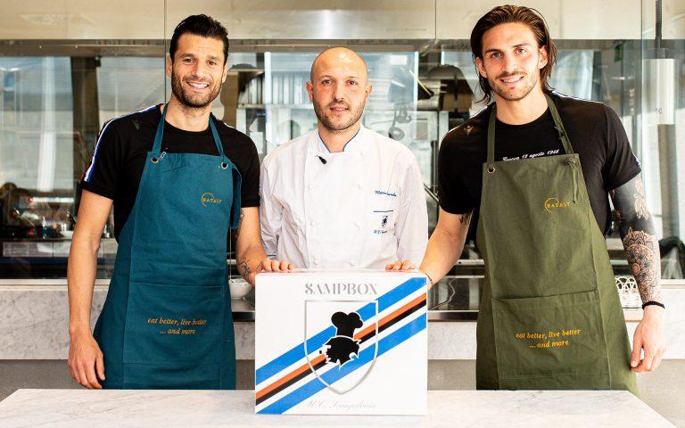 Ordina SampBox: Candreva e Torregrossa cucinano per i tifosi