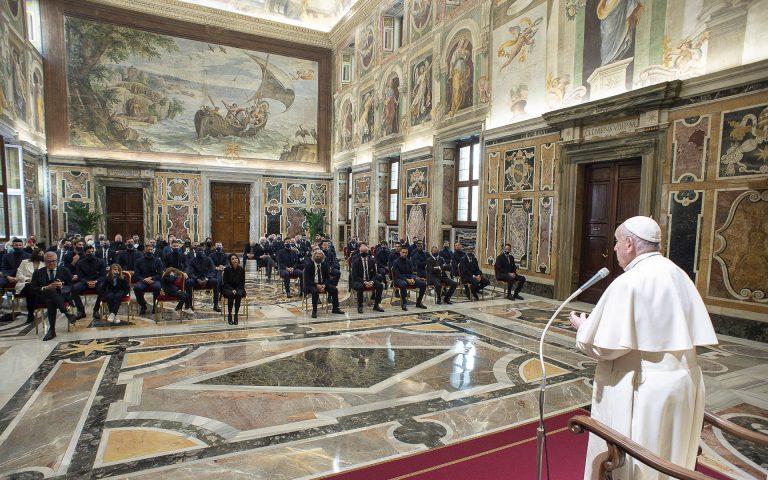 La lettera di Papa Francesco all'U.C. Sampdoria