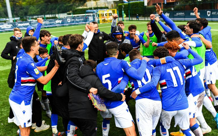 Primavera win derby to go top