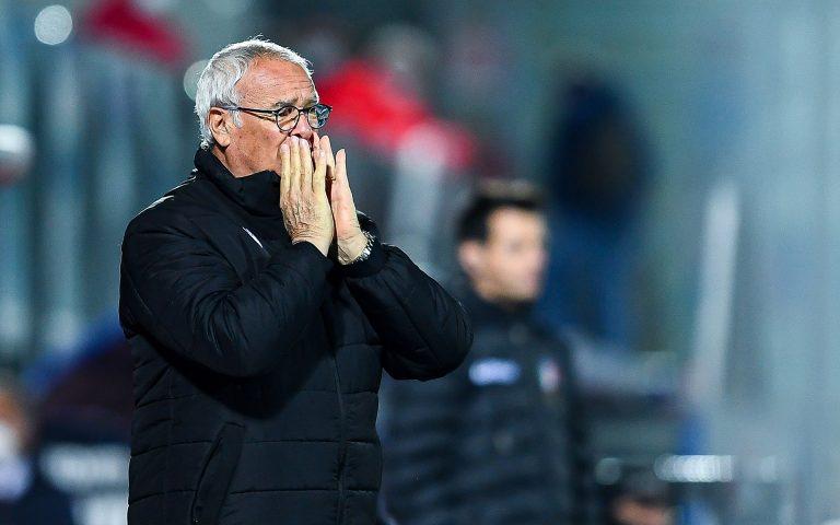 Ranieri: «Vinta una gara difficile, ora una super prova con il Sassuolo»