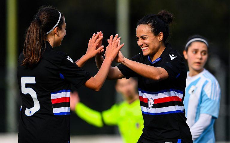 Samp women U19 put five past Virtus in historic first victory