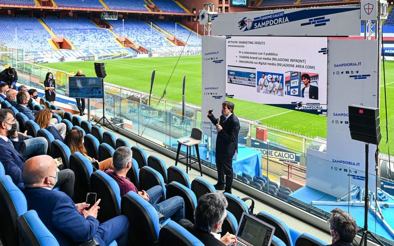 """Di nuovo insieme: al """"Ferraris"""" il Workshop 2021 U.C. Sampdoria"""