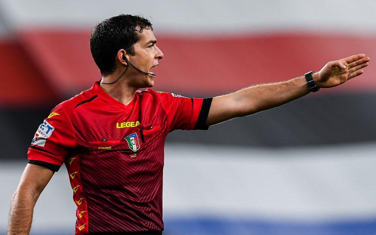 Arbitri: Inter-Sampdoria affidata ad Ayroldi di Molfetta