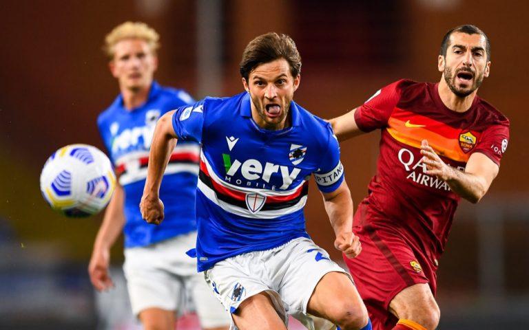 Serie A TIM, Sampdoria-Roma: la fotogallery