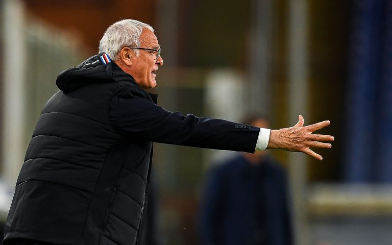 Ranieri demands Samp keep pushing till the end after Roma win