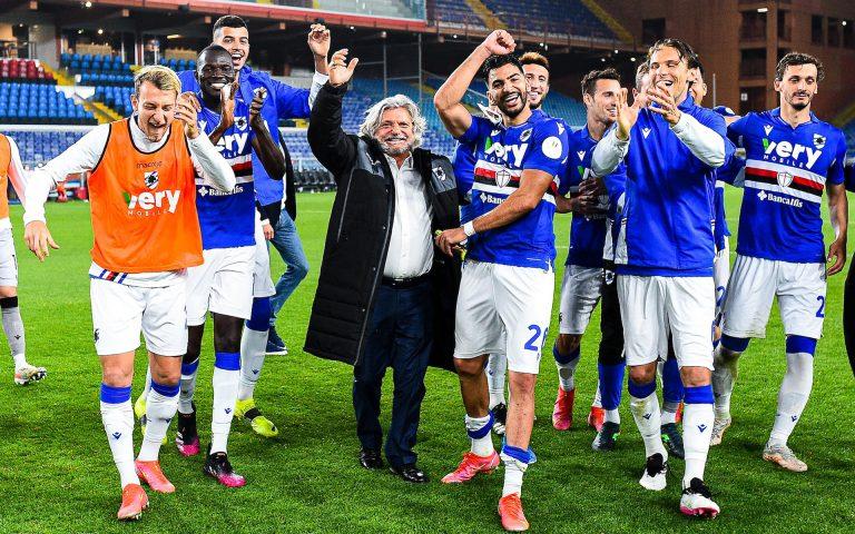 Il presidente Ferrero: «Grazie di tutto Ranieri, ora penso al futuro»