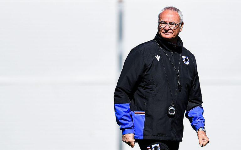 Ranieri verso l'Inter: «Orgoglio Samp contro i campioni»