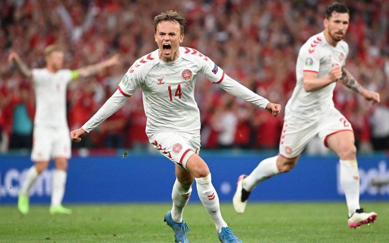 Damsgaard, l'EURO star: il talento danese è da record