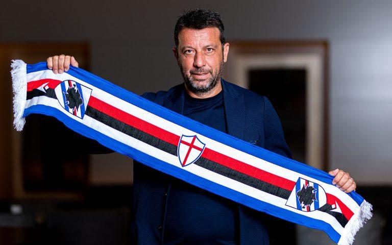 Il saluto di mister D'Aversa ai tifosi della Sampdoria
