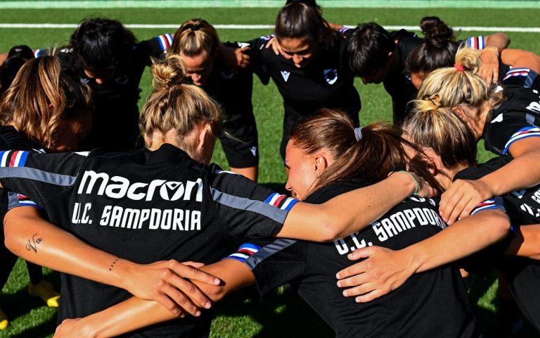 Welcome Women: al via la Sampdoria di mister Cincotta