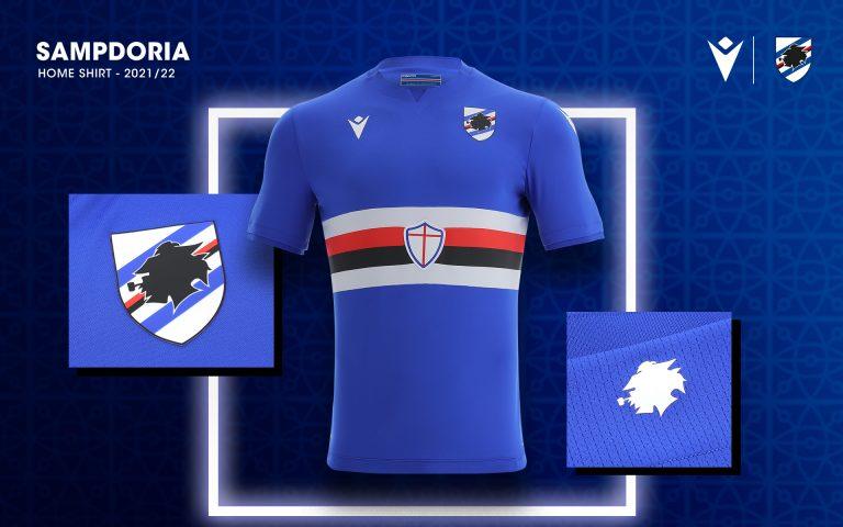 Blucerchiata, la nuova maglia Home della Sampdoria