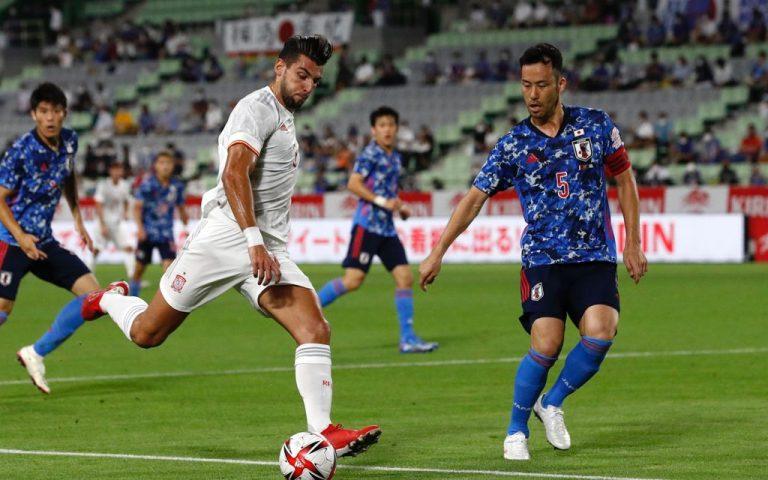 Yoshida's Japan draw with Spain ahead of Tokyo 2020