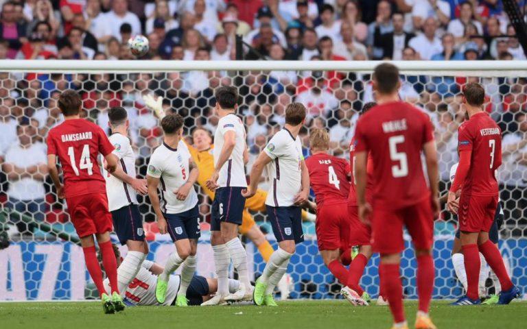 EURO 2020: capolavoro di Damsgaard, ma in finale va l'Inghilterra