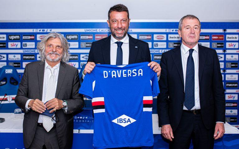 D'Aversa: «Samp club ambizioso, ricordo la spinta della Sud»
