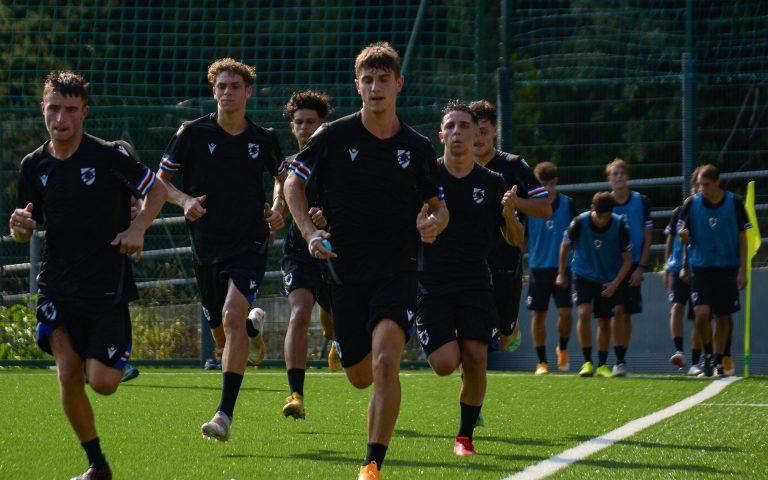 Riparte la Primavera: i giovani blucerchiati si allenano a Bogliasco