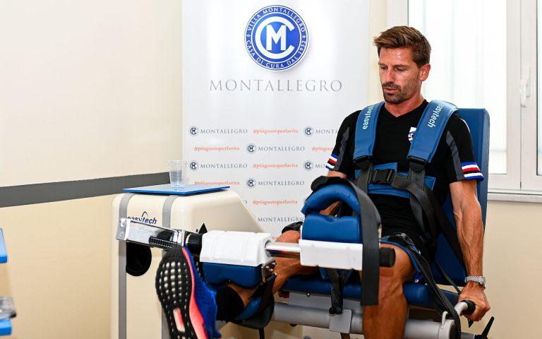 La Sampdoria riprende: primi test a Villa Montallegro