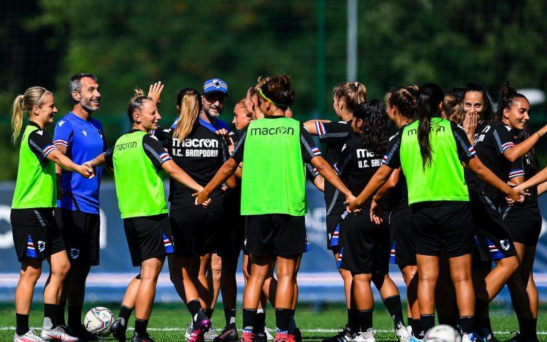 Sampdoria Women: ripresa verso la sfida con la Lazio