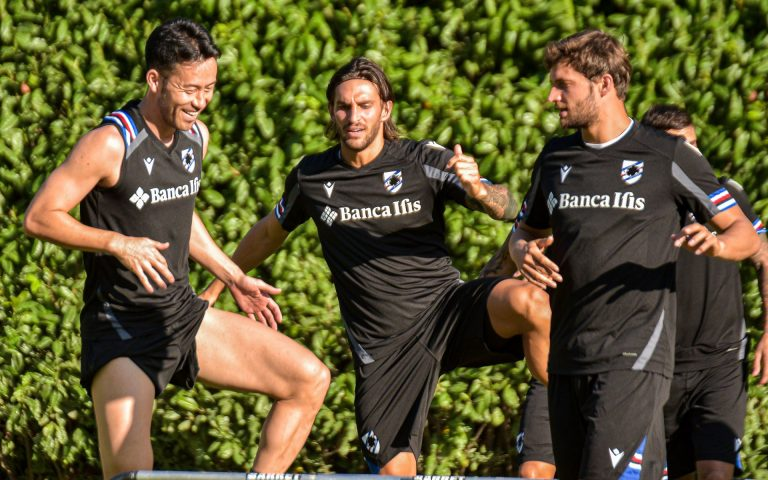 Yoshida back as Sampdoria resume training
