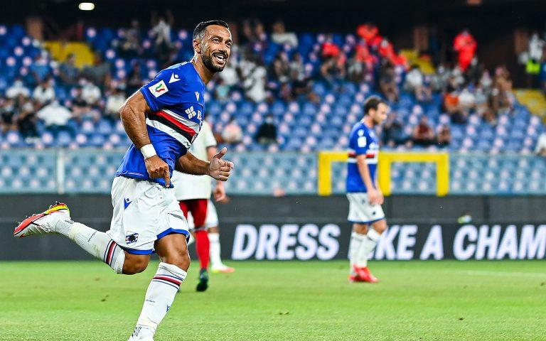 Quagliarella, the 100-goal man on Alessandria win