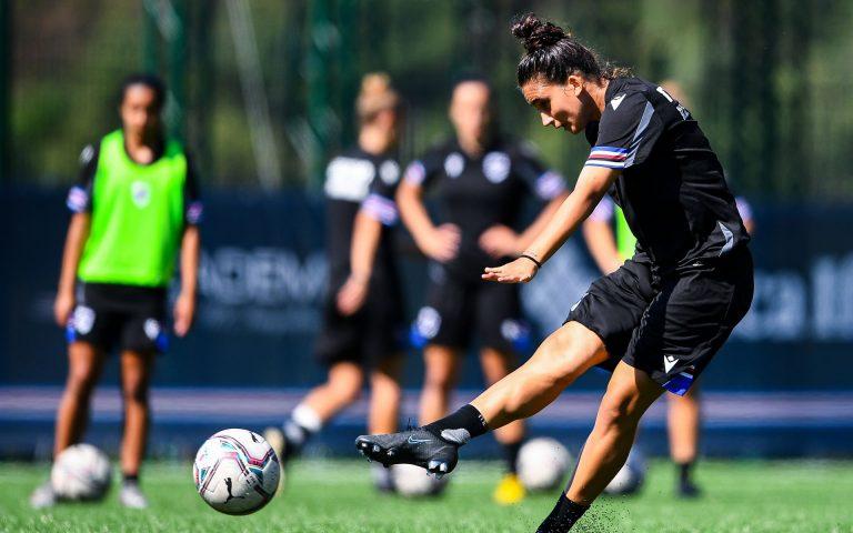 Samp Women return to training ahead of AC Milan clash