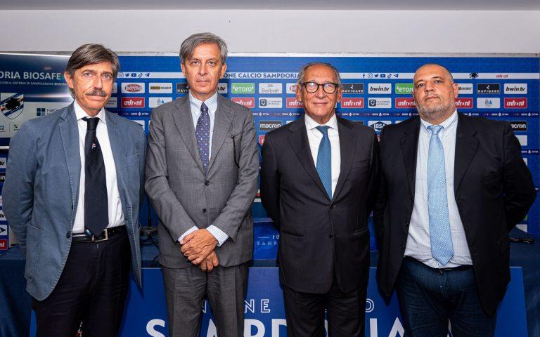 Sampdoria Biosafe: presentato il progetto con tecnologia Biovitae