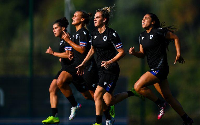 Samp Women: hard work ahead of Fiorentina continues