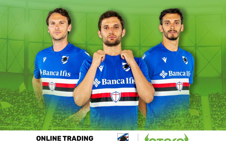 U.C. Sampdoria announces eToro as online trading partner