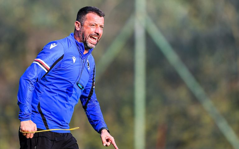 D'Aversa calls on Samp to channel anger into Juve match