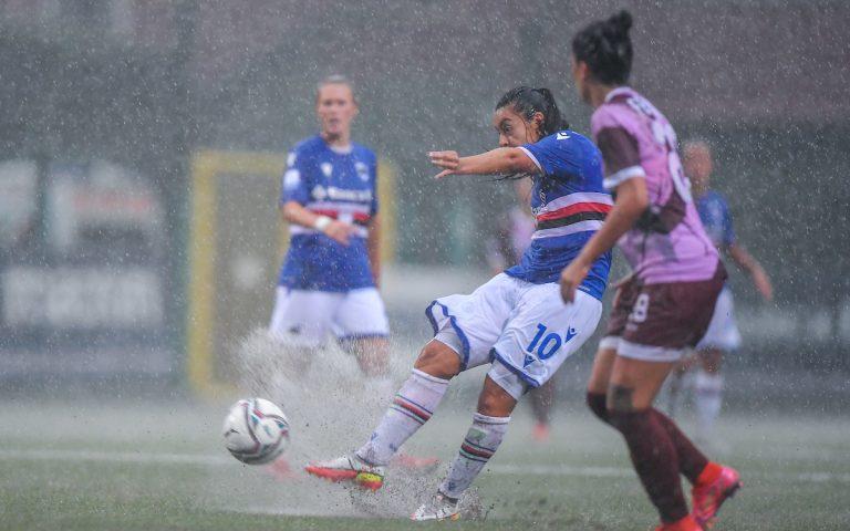La pioggia ferma le blucerchiate: rinviata Samp-Pomigliano
