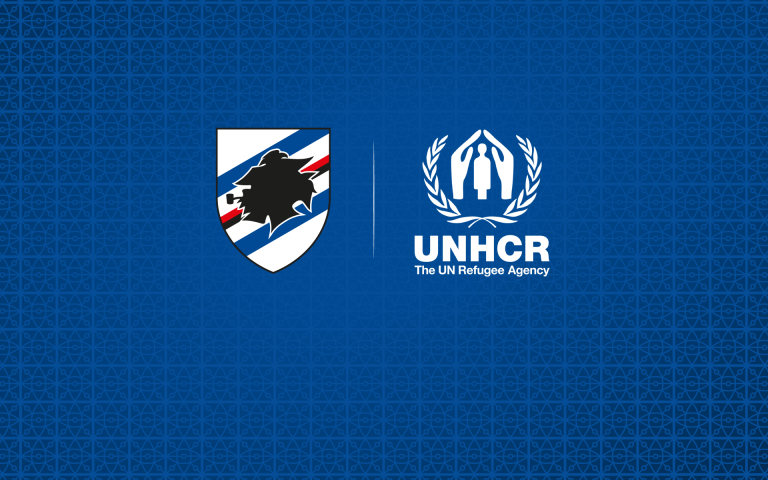 Sampdoria takes to the pitch with UNHCR for Afghanistan