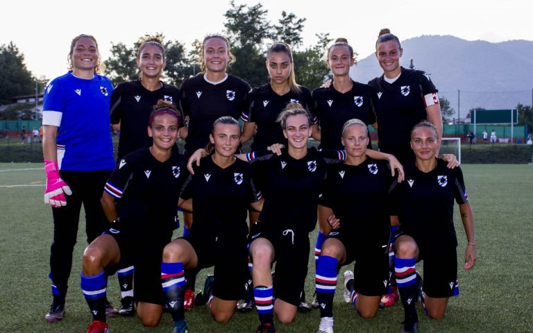 Sampdoria Women: termina 3-1 il test con la Solbiatese