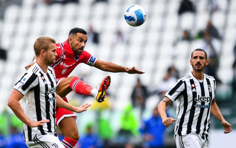 Samp fall just short at Juve in 3-2 defeat