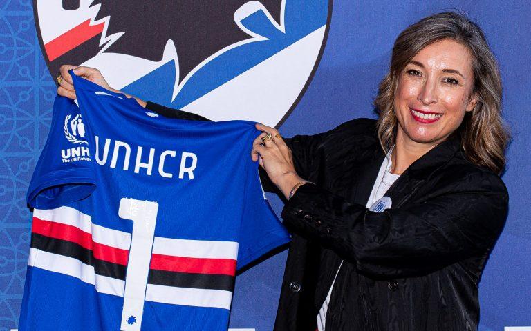UNHCR, la portavoce Sami: «Orgogliosa della mia Sampdoria»