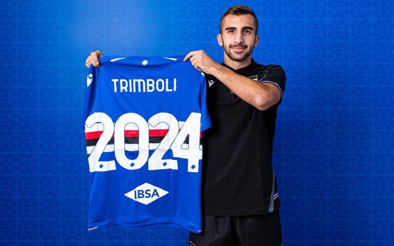 Trimboli renews contract with Sampdoria