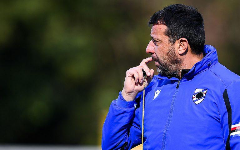D'Aversa e l'Atalanta: «Serve una Samp vogliosa e determinata»