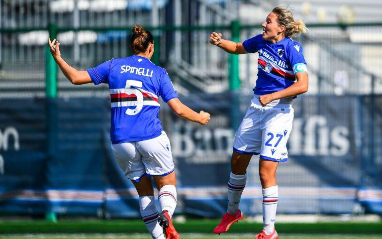 Captain Tarenzi seals win over Pomigliano for Samp Women