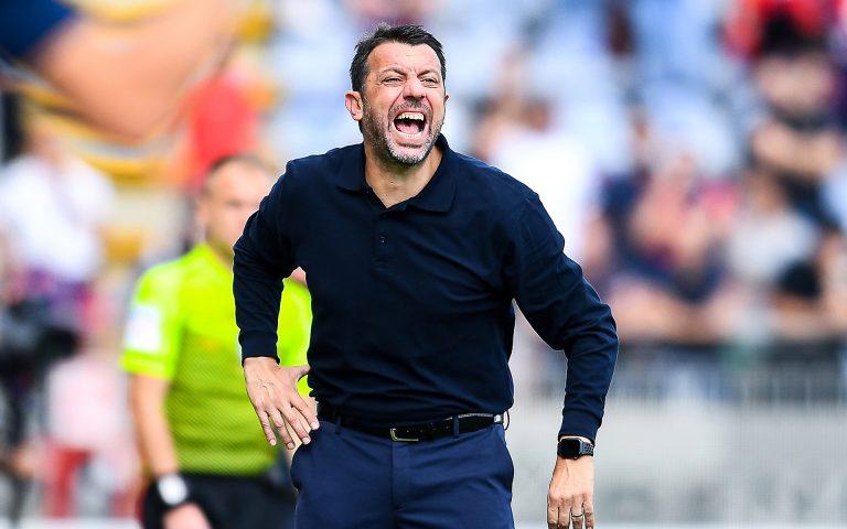 D'Aversa recrimina: «Il risultato non rispecchia la partita»