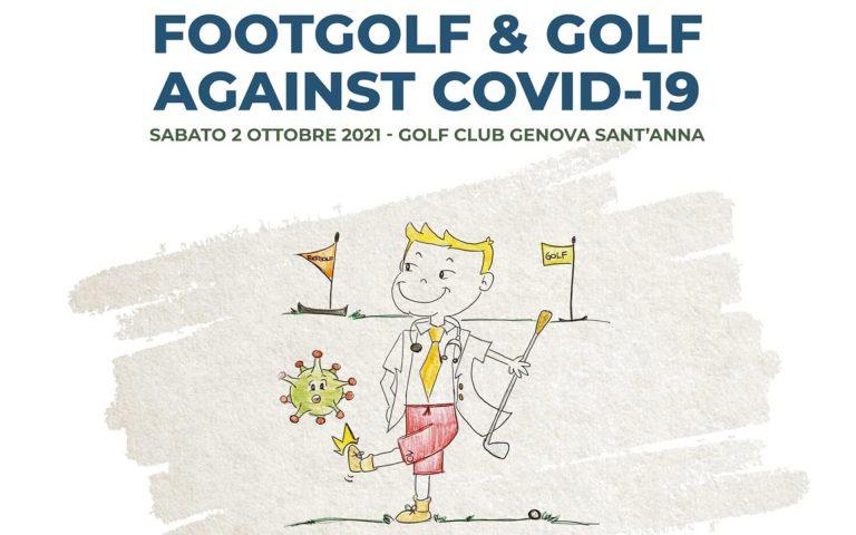 Footgolf & Golf against COVID-19: sport benefico a Lerca